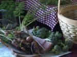 more carrots and brocolli