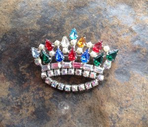 Colorful Crown by B. David
